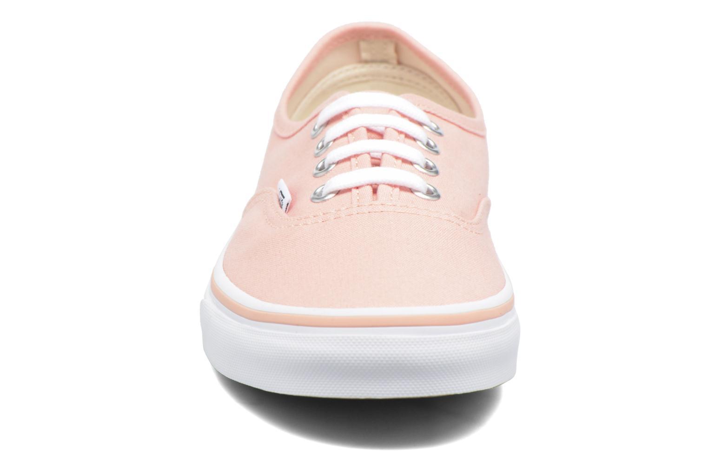 Sneaker Vans Authentic w orange schuhe getragen
