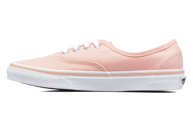 Sneaker Vans Authentic w orange ansicht von vorne