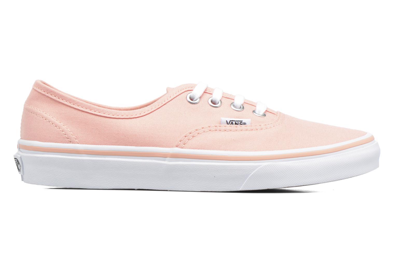 Sneaker Vans Authentic w orange ansicht von hinten