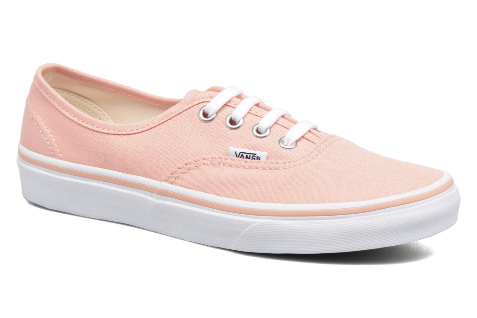 Sneaker Vans Authentic w orange detaillierte ansicht/modell