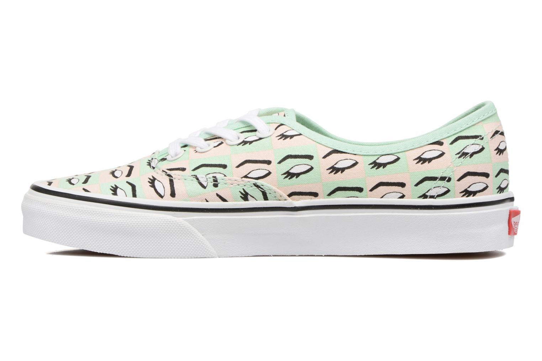 Sneaker Vans Authentic w mehrfarbig ansicht von vorne