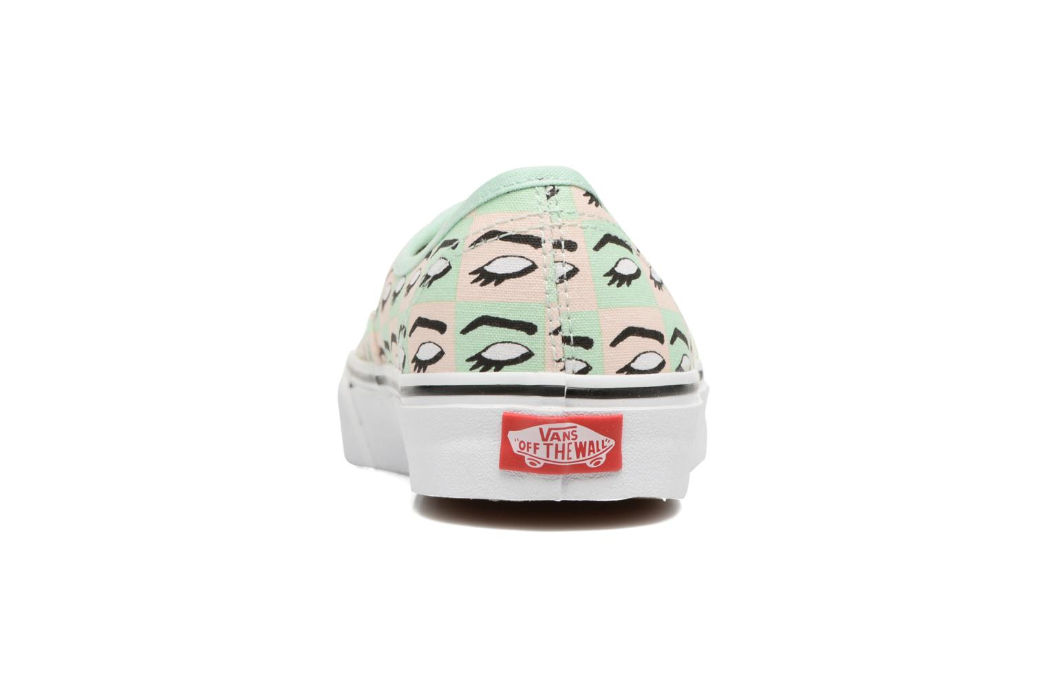 Trainers Vans Authentic w Multicolor view from the right
