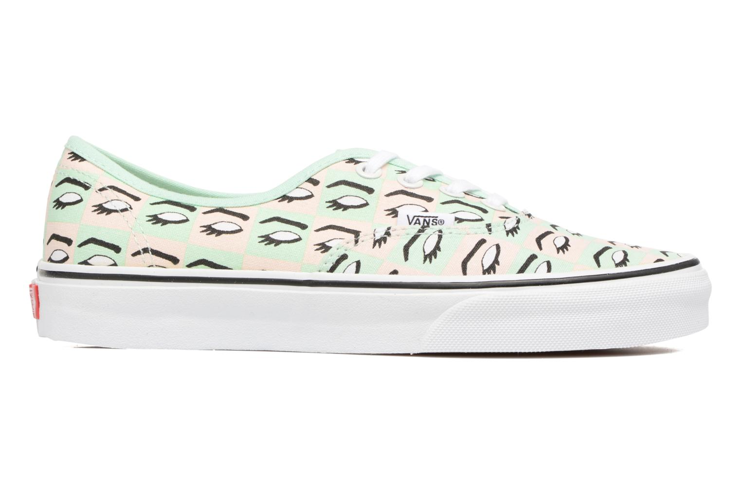 Baskets Vans Authentic w Multicolore vue derrière