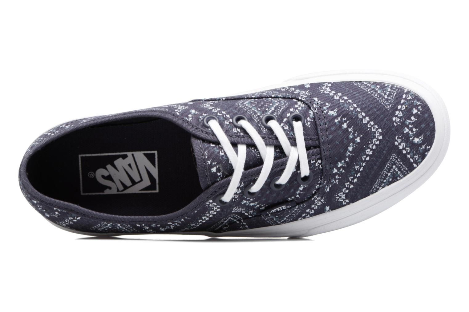 Sneakers Vans Authentic w Blauw links