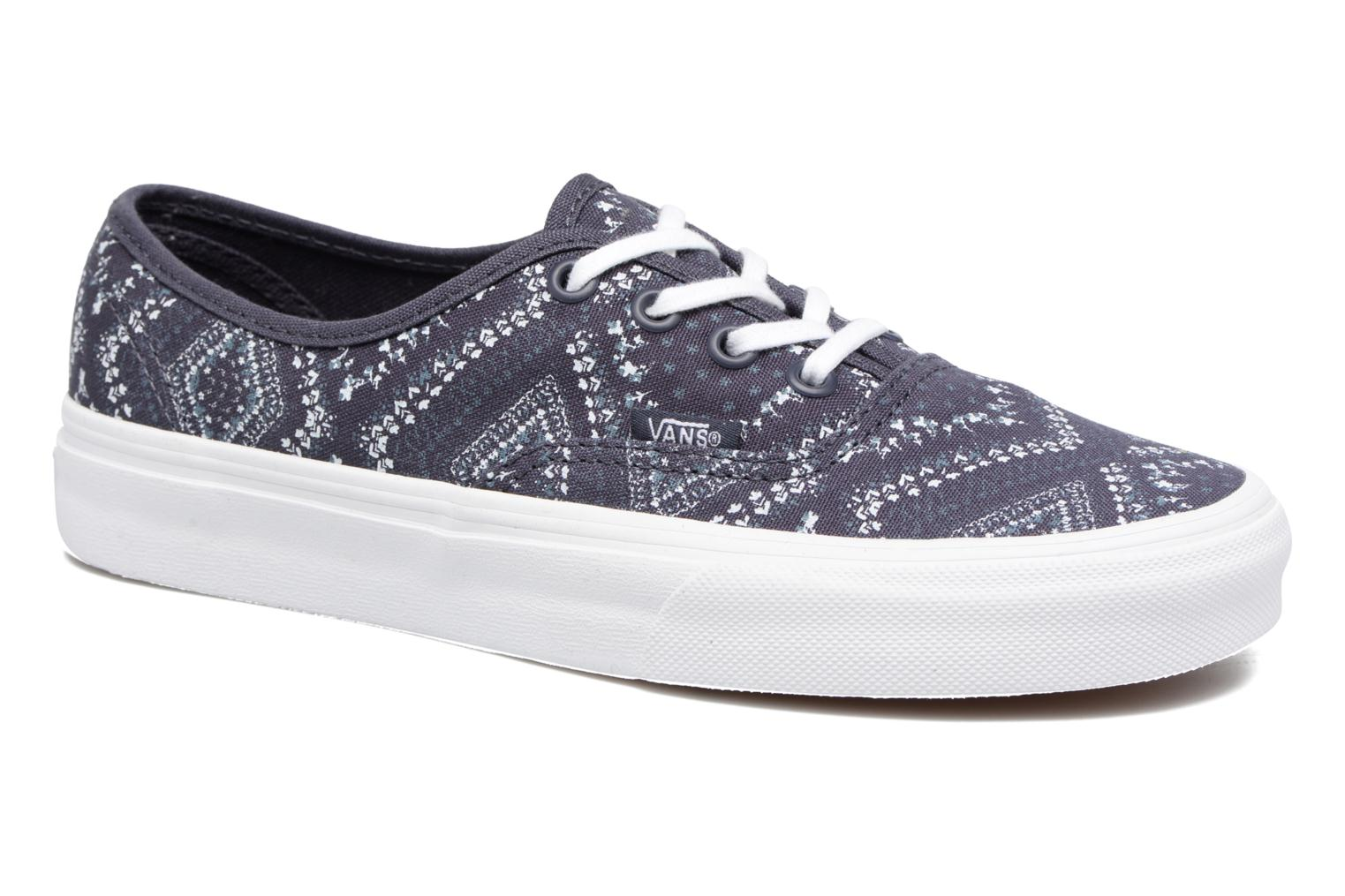 Sneakers Vans Authentic w Blauw detail