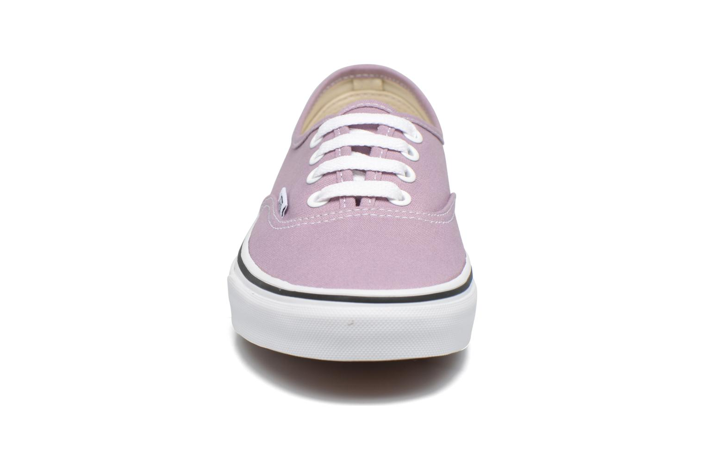 Baskets Vans Authentic w Violet vue portées chaussures