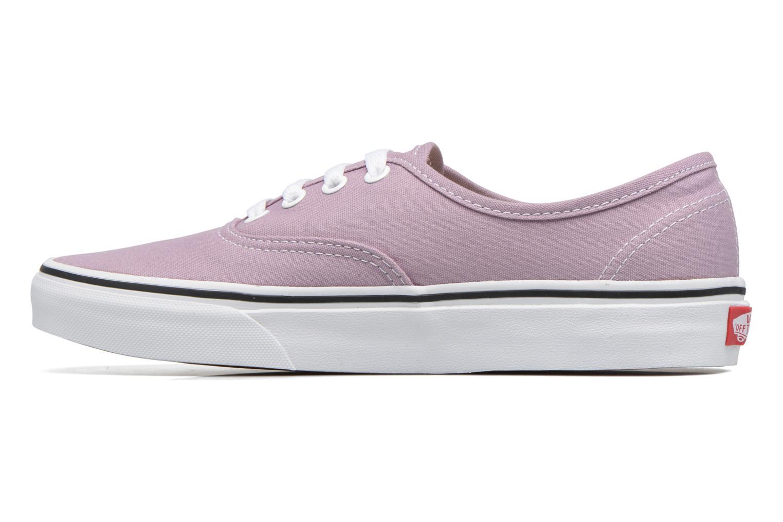 Sneaker Vans Authentic w lila ansicht von vorne