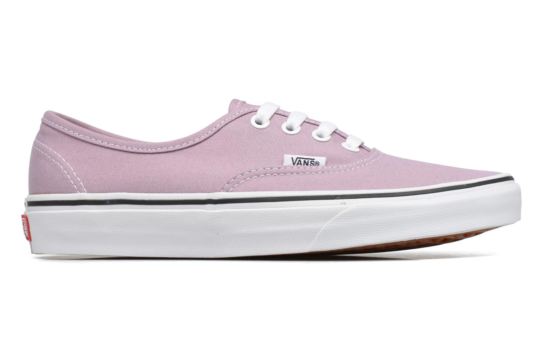 Sneaker Vans Authentic w lila ansicht von hinten
