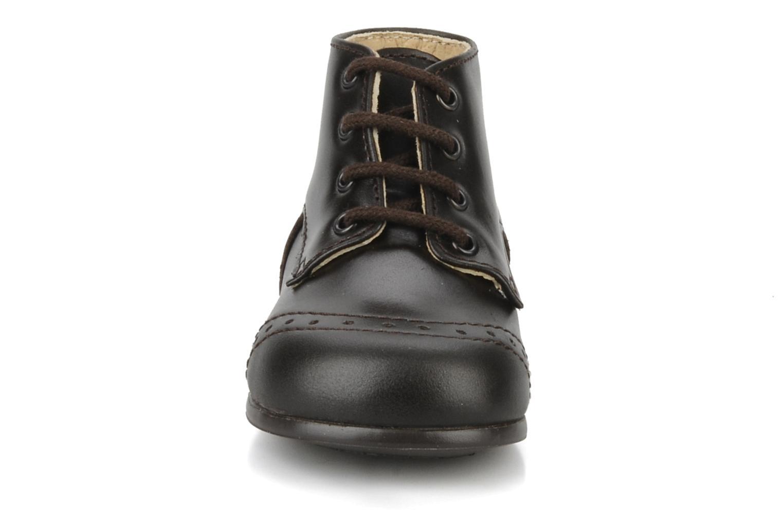 Bottines et boots Rose & Martin Sufolk Marron vue portées chaussures