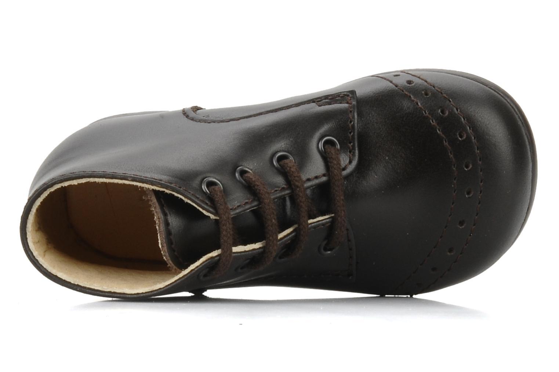Bottines et boots Rose & Martin Sufolk Marron vue gauche