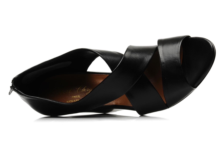 Sandali e scarpe aperte Clergerie Javor Nero immagine sinistra