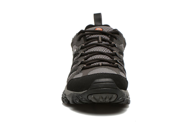 Chaussures de sport Merrell Moab GTX Gris vue portées chaussures