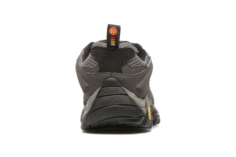 Chaussures de sport Merrell Moab GTX Gris vue droite