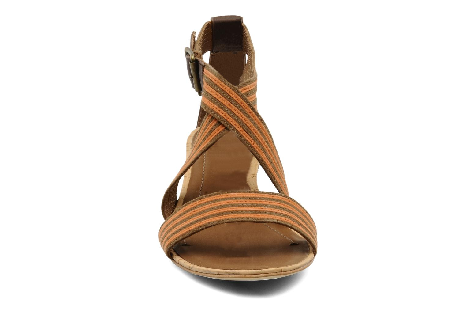 Sandals Marc O'Polo Kella Brown model view