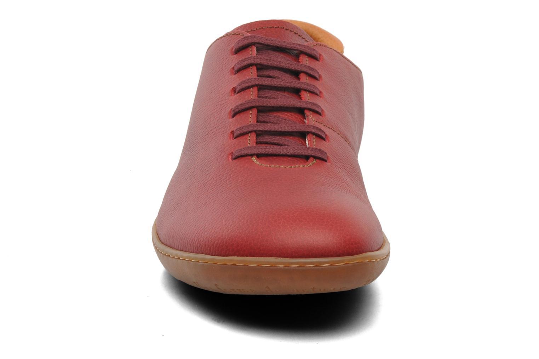 Zapatos con cordones El Naturalista El Viajero N296 M Rojo vista del modelo