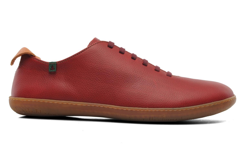 Zapatos con cordones El Naturalista El Viajero N296 M Rojo vistra trasera