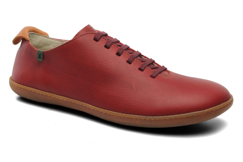 Chaussures à lacets El Naturalista El Viajero N296 M Rouge vue détail/paire