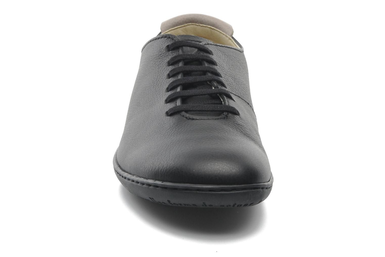 El Viajero N296 M Black-Black pull grain