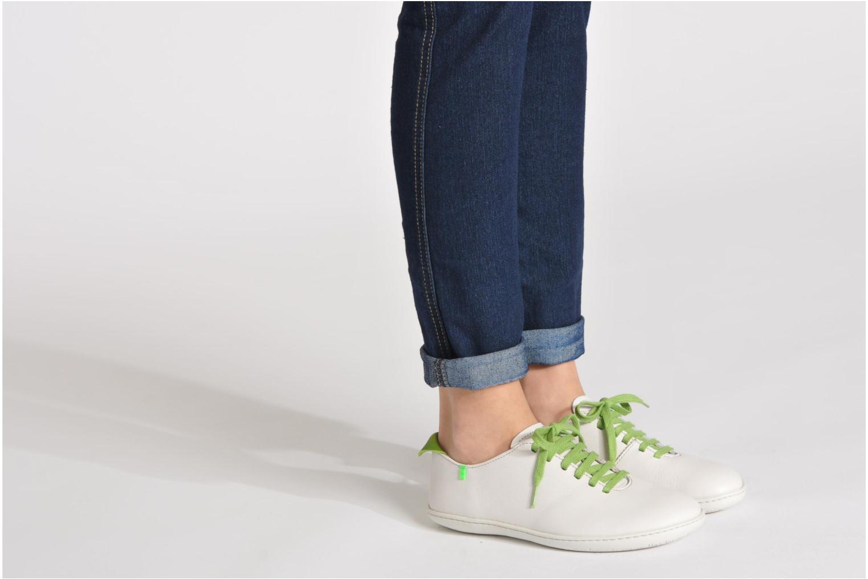 Chaussures à lacets El Naturalista El Viajero N296 W Bordeaux vue bas / vue portée sac