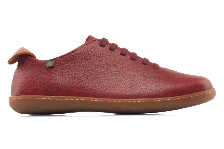 Chaussures à lacets El Naturalista El Viajero N296 W Bordeaux vue derrière