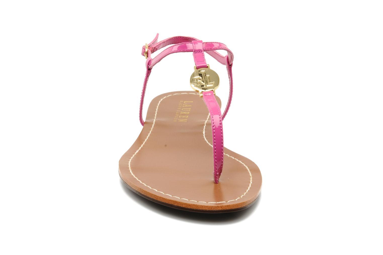 Sandales et nu-pieds Lauren by Ralph Lauren Aimon Violet vue portées chaussures