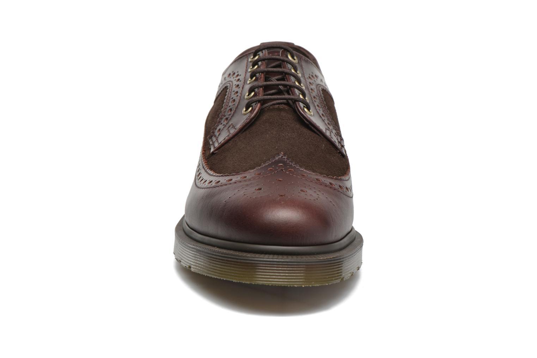 Schnürschuhe Dr. Martens 3989 braun schuhe getragen