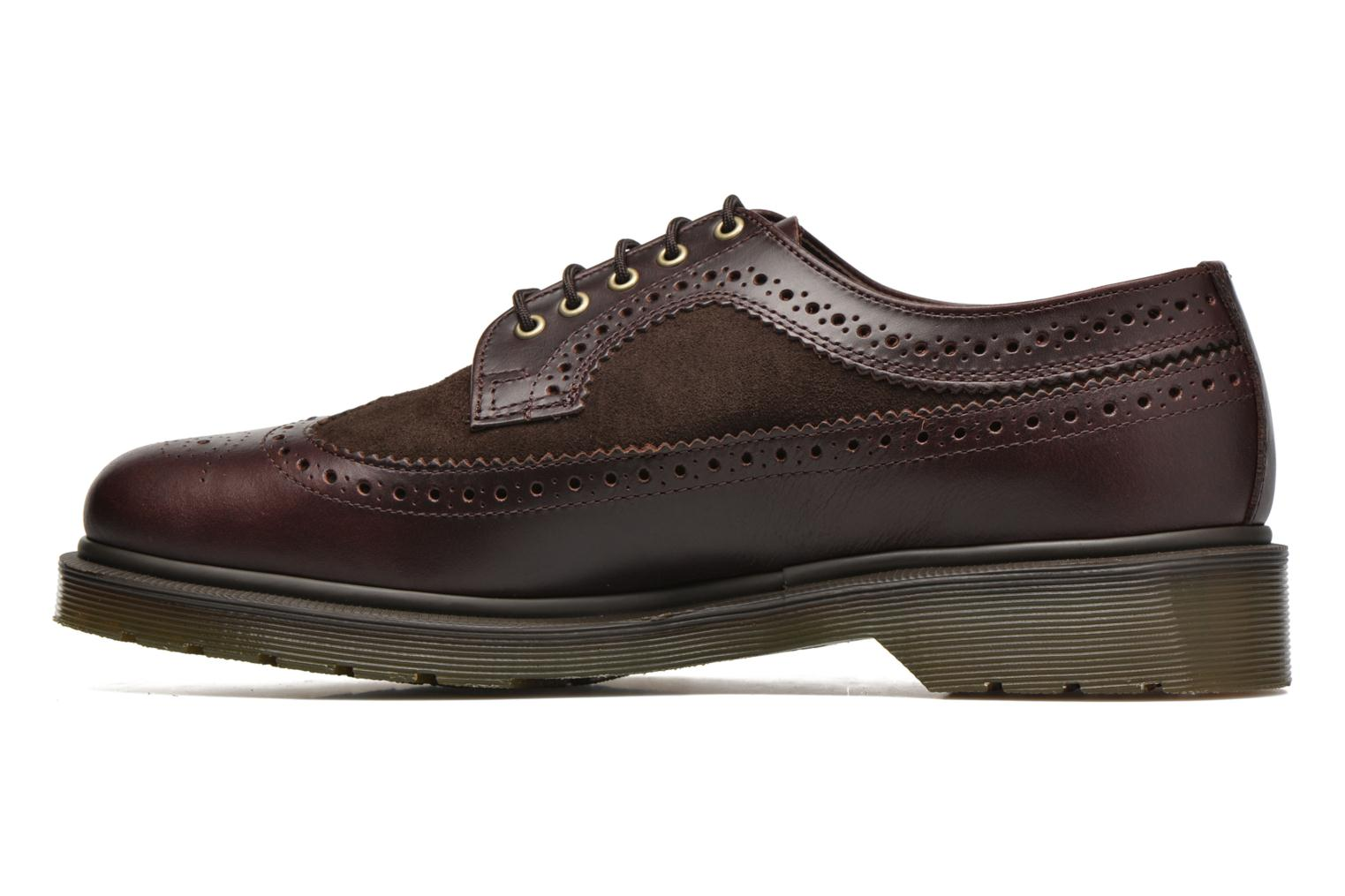 Lace-up shoes DR. Martens 3989 Brown front view