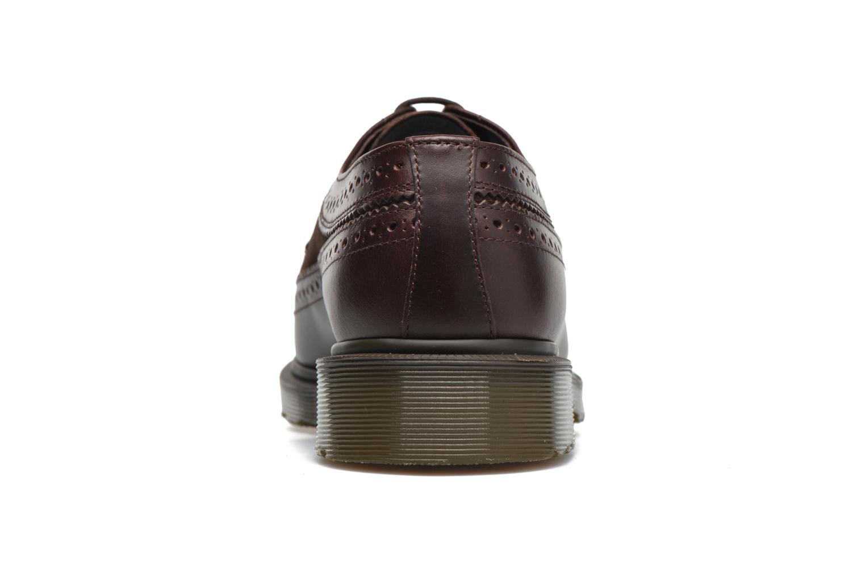 Zapatos con cordones DR. Martens 3989 Marrón vista lateral derecha