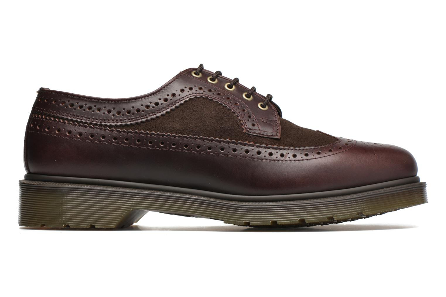 Lace-up shoes DR. Martens 3989 Brown back view