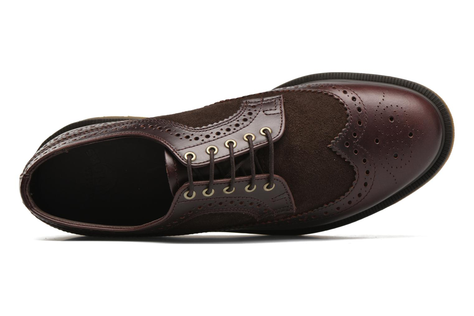 Lace-up shoes DR. Martens 3989 Brown view from the left