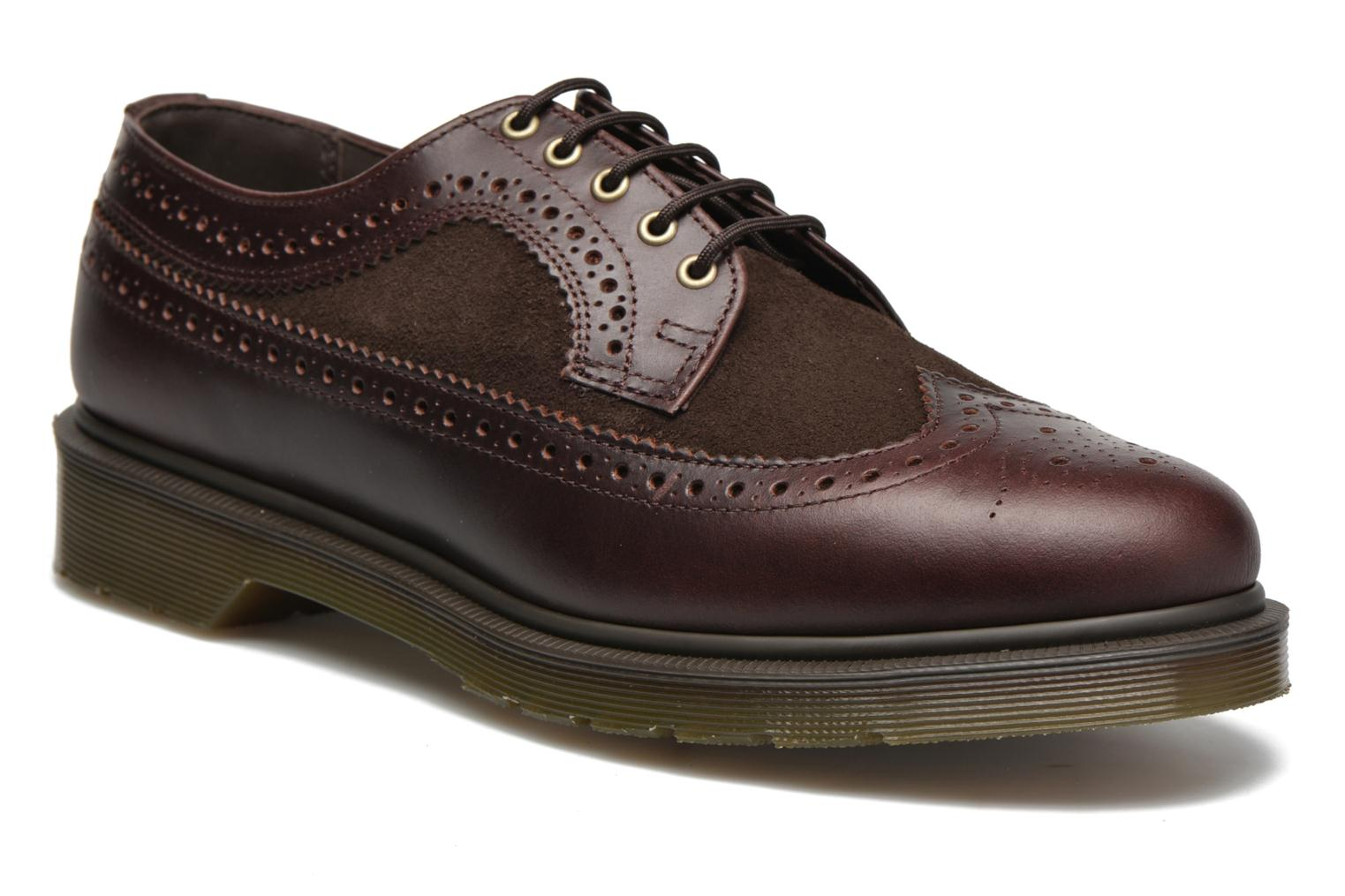 Lace-up shoes DR. Martens 3989 Brown detailed view/ Pair view