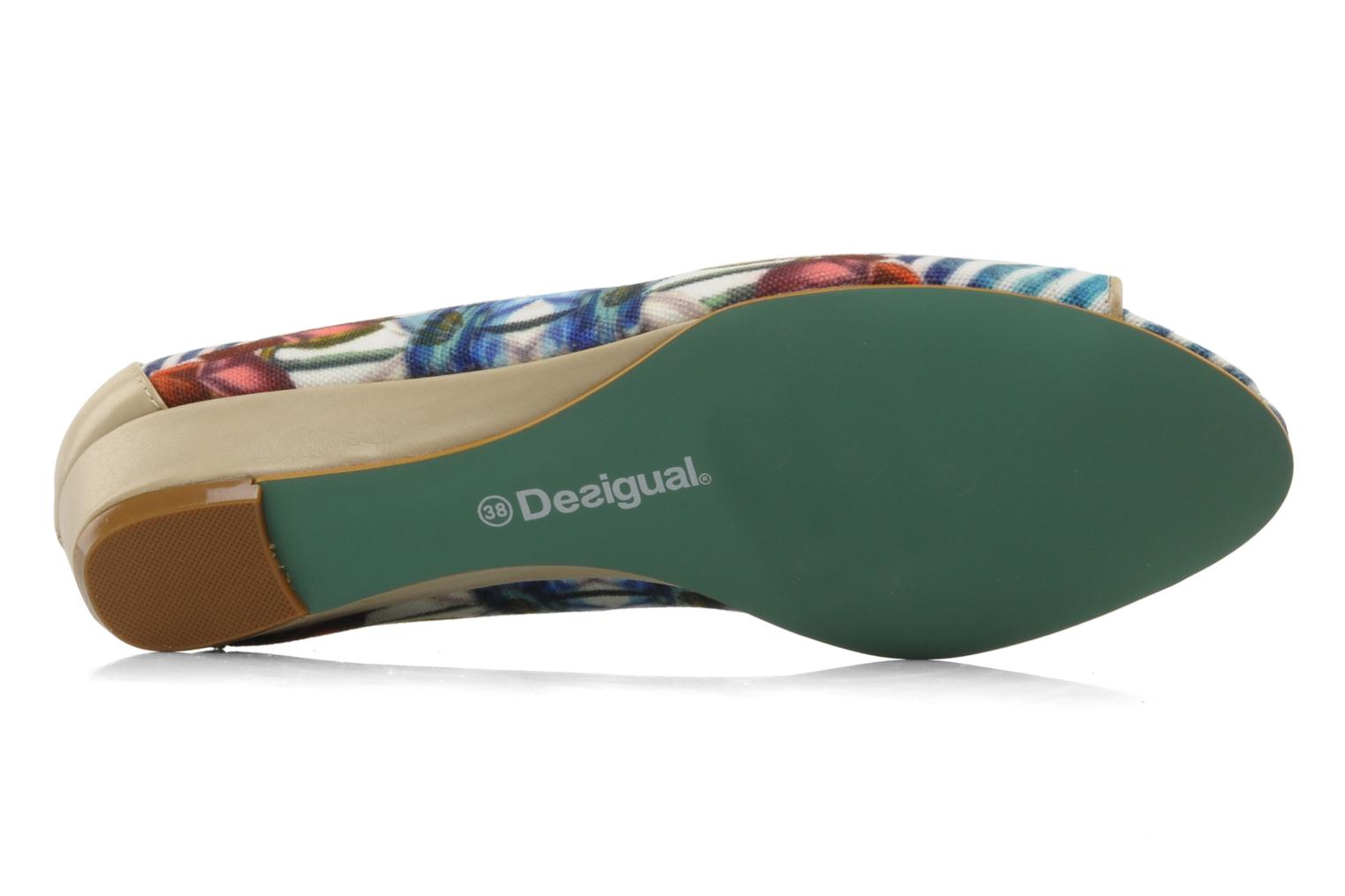 Ballet pumps Desigual Kailani Blue view from above