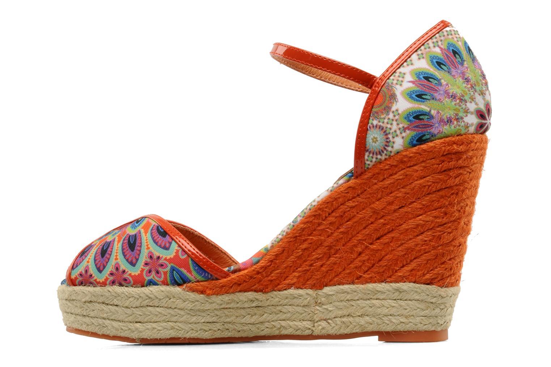 Sandali e scarpe aperte Desigual Leilani Multicolore immagine frontale