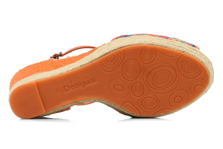 Sandali e scarpe aperte Desigual Leilani Multicolore immagine dall'alto