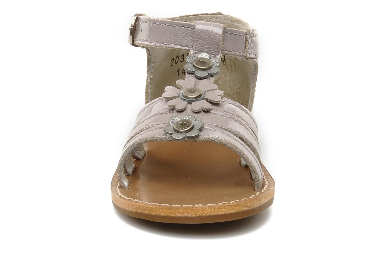 Sandali e scarpe aperte Aster VIGNETTE Viola modello indossato