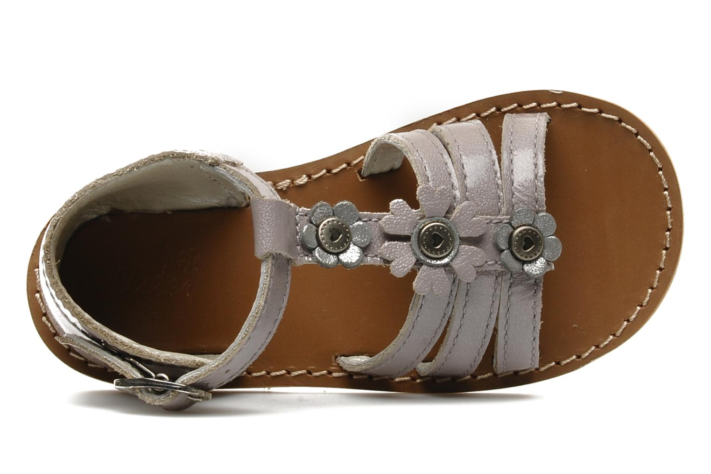 Sandali e scarpe aperte Aster VIGNETTE Viola immagine sinistra