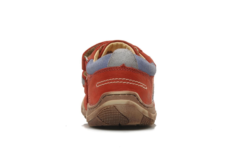 Sneakers Aster HENOCK Rood rechts