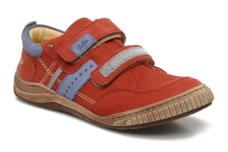 Sneakers Aster HENOCK Rood detail