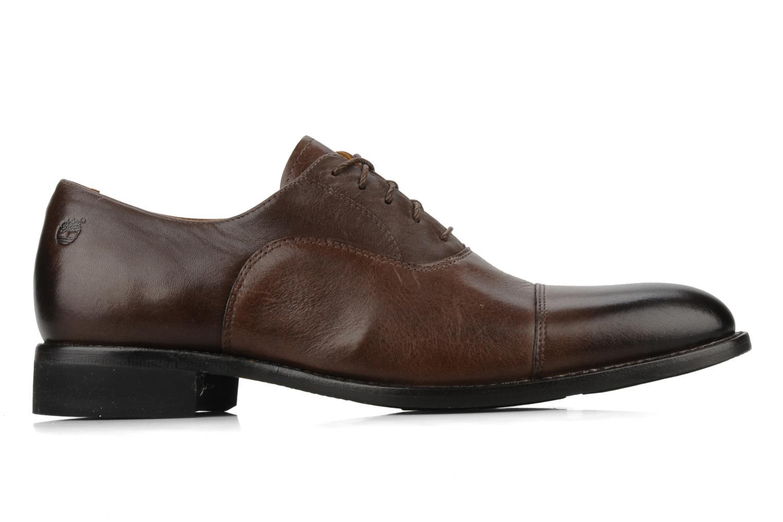 Chaussures à lacets Timberland CA Auburn Cap Marron vue derrière