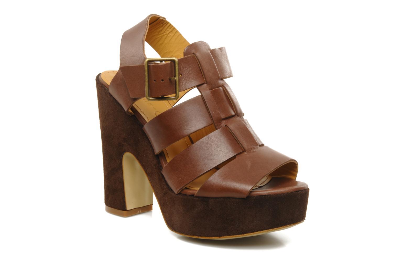 Sandales et nu-pieds Emma Go Lowe Marron vue détail/paire