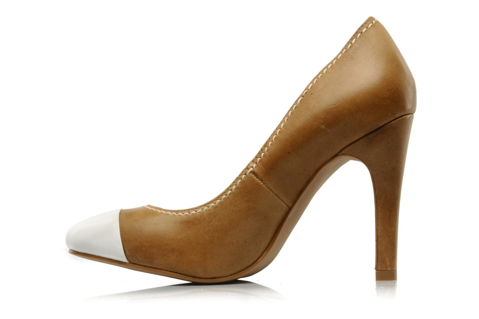 High heels French Connection TRUDY Brown front view
