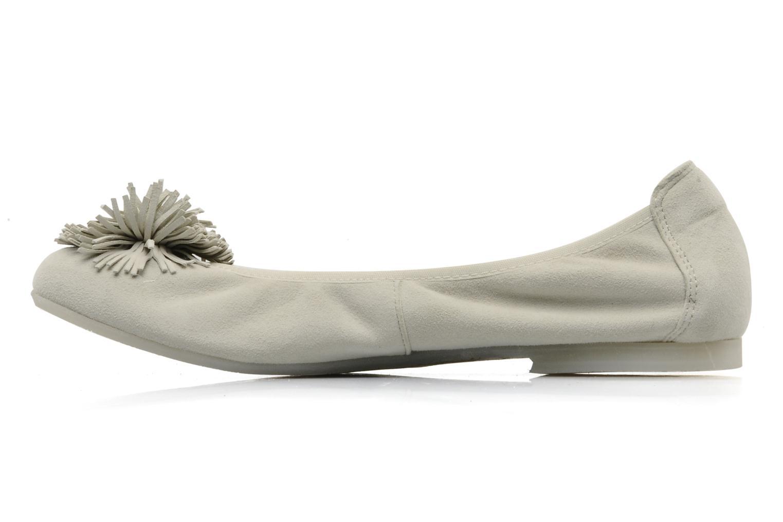 Ballerinas Acebo's Pom Pom - F beige ansicht von vorne