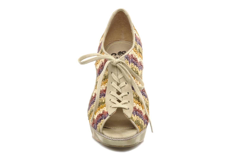 Schnürschuhe Feud WHIP mehrfarbig schuhe getragen
