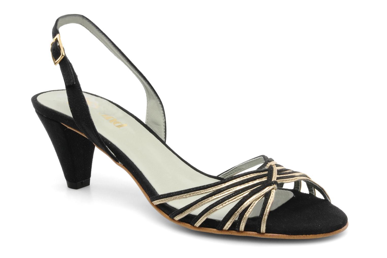 Sandales et nu-pieds Beyond Skin Jenny Noir vue détail/paire
