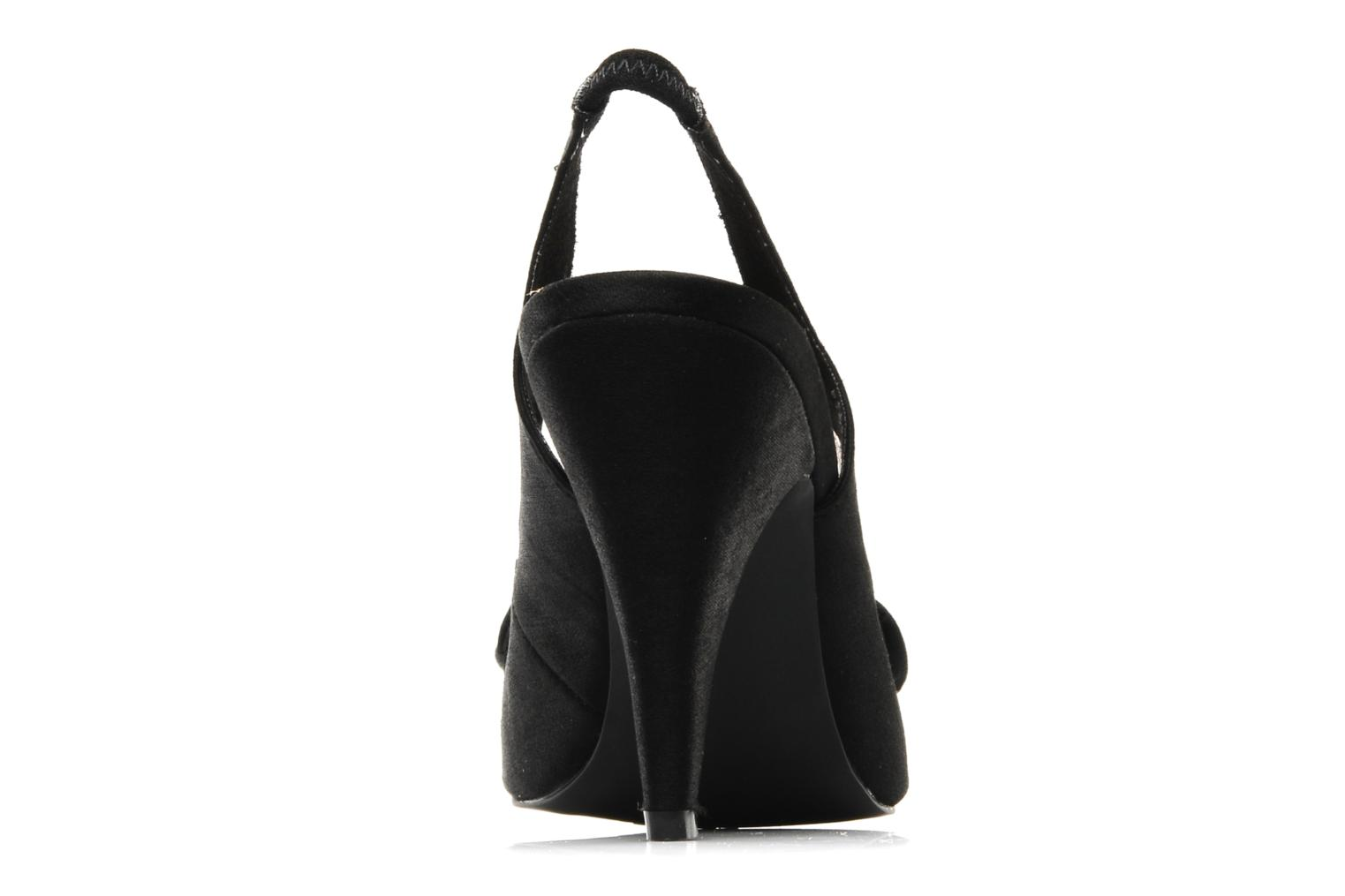 High heels Rocket Dog Ohno Satin Black view from the right