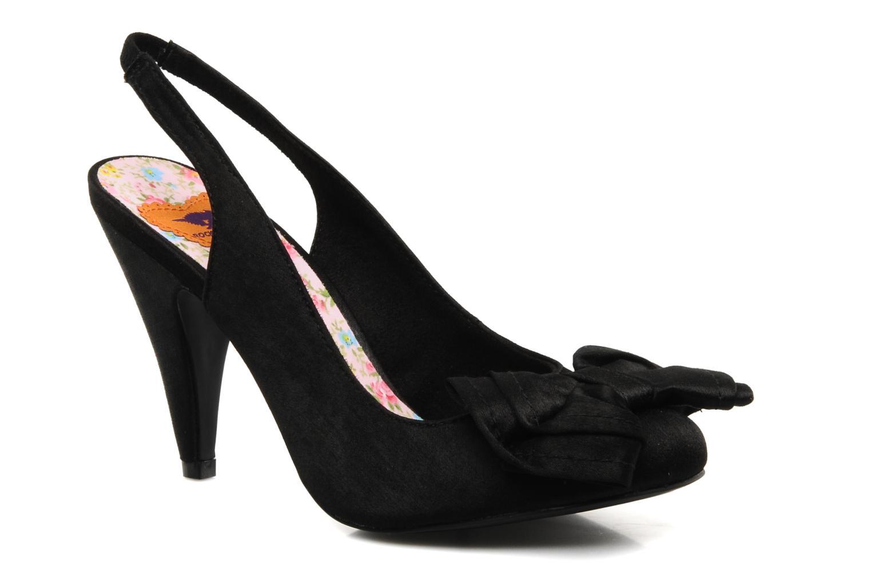 High heels Rocket Dog Ohno Satin Black detailed view/ Pair view