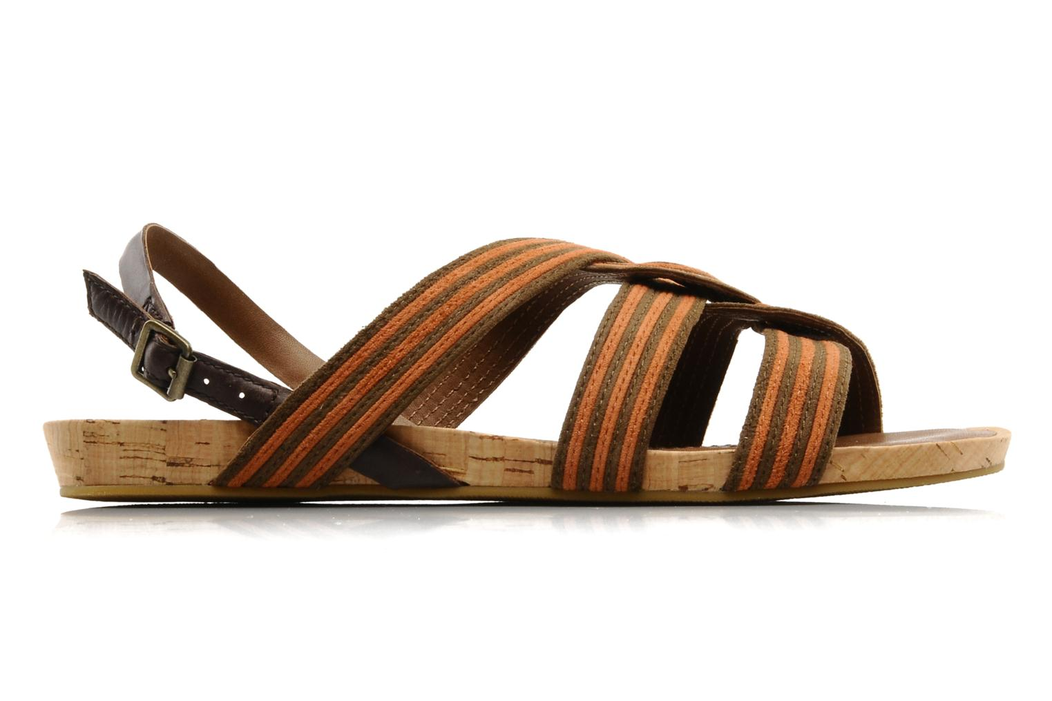 Sandals Marc O'Polo Chouquette Brown back view