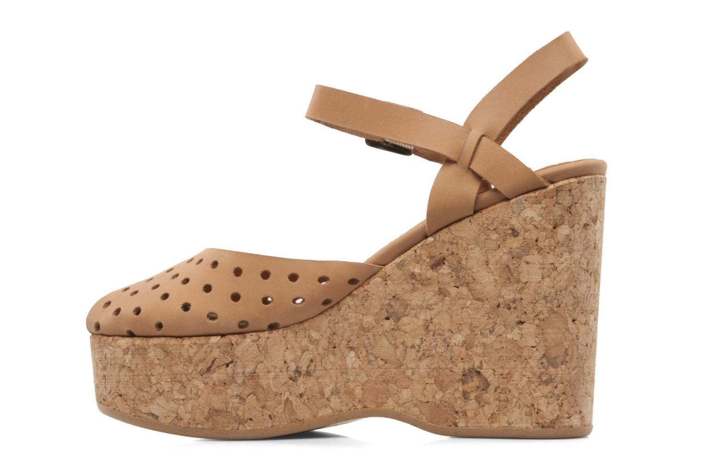 Sandali e scarpe aperte Swildens Garance Beige immagine frontale