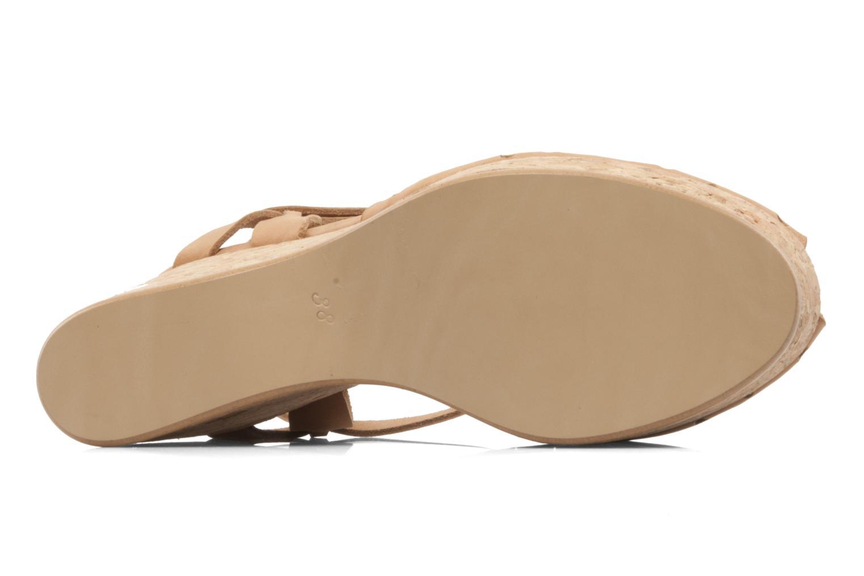 Sandali e scarpe aperte Swildens Garance Beige immagine dall'alto