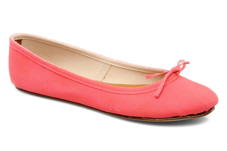 Ballerinaer Swildens Gianna T Pink detaljeret billede af skoene